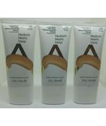 Lot of 3 Almay Smart Shade Skin Tone Matching Makeup Medium Meets Deep 400 1 oz - $17.77