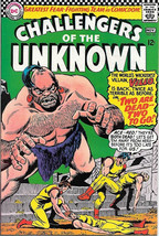 Challengers of the Unknown Comic Book #52, DC Comics 1966 VERY FINE - $31.85