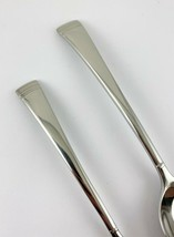 "Lenox Federal Platinum Glossy Set of 1 Teaspoon 6 1/4""  & 1 Soup Spoon 7... - $15.79"