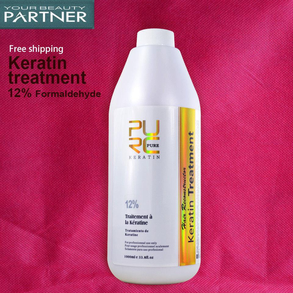 Brazilian Keratin 12% Formaldehyde Hair Straightening Treatment Repair 1000ml image 10