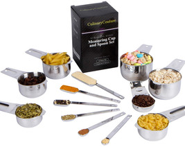 Measuring Cups and Spoons Set - 13 Piece Baking and Cooking Tool Pack, S... - $42.22