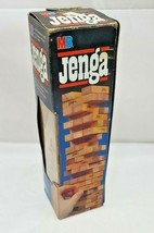 Jenga by Milton Bradley Game Model 4793 Wood 1986 Edition Complete - £15.20 GBP