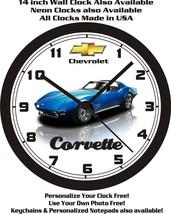 1971 CHEVROLET CORVETTE WALL CLOCK-FREE USA SHIP! - $28.70+
