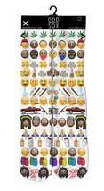 Odd Sox Weed Pot Marijuana Blunt Joint Smiley Emo G Emoji Crew Socks 6-13 NWT