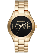 Michael Kors Slim Runway Love Women's Watch MK3803 New With Tags - $148.50