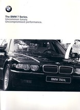 1999 BMW 7-SERIES brochure catalog US 99 740i 740iL 750iL - $12.00