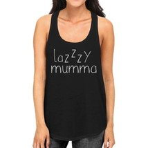 Lazzzy Mumma Women's Black Funny Graphic Tanks Gift Ideas For Her - $14.99+