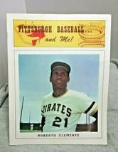 1973 Roberto Clemente Pittsburgh Baseball And Me Program vintage - $19.79