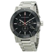 Burberry BU9380 Sport Black Ceramic Dial Swiss Made Chronograph Mens Watch - $236.51