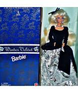 Mattel 1995 Winter Velvet Barbie Avon Special Edition First Series #15571 - $27.72