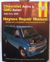 Vtg Haynes Automotive Repair Manual Chevrolet Astro GMC Safari 1985-98 P... - $19.58