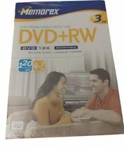NEW Memorex 4.7 GB 6 Pack 3 DVD+RW DVD+R Blank Storage Media Rewritable ... - $9.99
