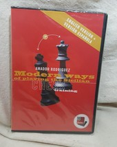 Fritz Chess Training Modern Way of Playing The Sicilian A. Rodriguez Eng/ Span - $98.99
