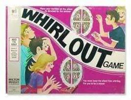 Whirl Out Board Game 1971 Milton Bradley Toy Vintage - $53.42