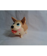 "Spin Master Chubby Puppies Husky Walking Tan Electronic Dog 3 1/2"" - $4.46"