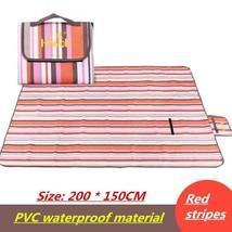 200*150cm Folding Camping Picnic Mats Quality Pvc Waterproof Material Ou... - €55,11 EUR
