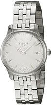 Tissot TTrend Tradition Silver Dial Stainless Steel Woman's Watch T06321... - $350.63