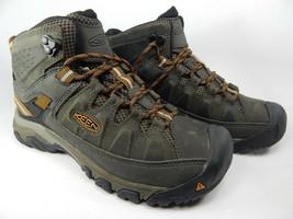 Keen Targhee III Mid Top Sz 7 M (D) EU 39.5 Men's WP Hiking Boots Olive 1017787