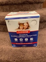 AllerEase Maximum Allergy & Bed Bug Protection Zippered Mattress Protect... - $24.00