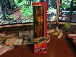 1983 Mattel Sun Gold Malibu Barbie Doll #1067 NIB - $24.95