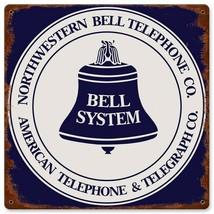 Northwestern Bell Telephone Co Metal Sign  - $24.95