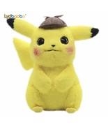 28cm Detective Pikachu Plush Toy High Quality Cute Anime Plush Toys Chil... - $17.90