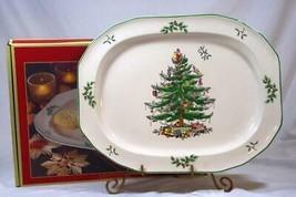 "Spode 2019 Christmas Tree Sculptured Platter 14"" NIB - $89.39"