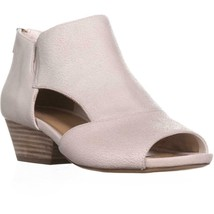 naturalizer Greyson Peep Toe Sandals, Alabaster, 6.5 US / 36.5 EU - $61.43