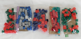 Monopoly Board Game Replacement Pieces Lot of Various Houses Hotels Buil... - $14.99