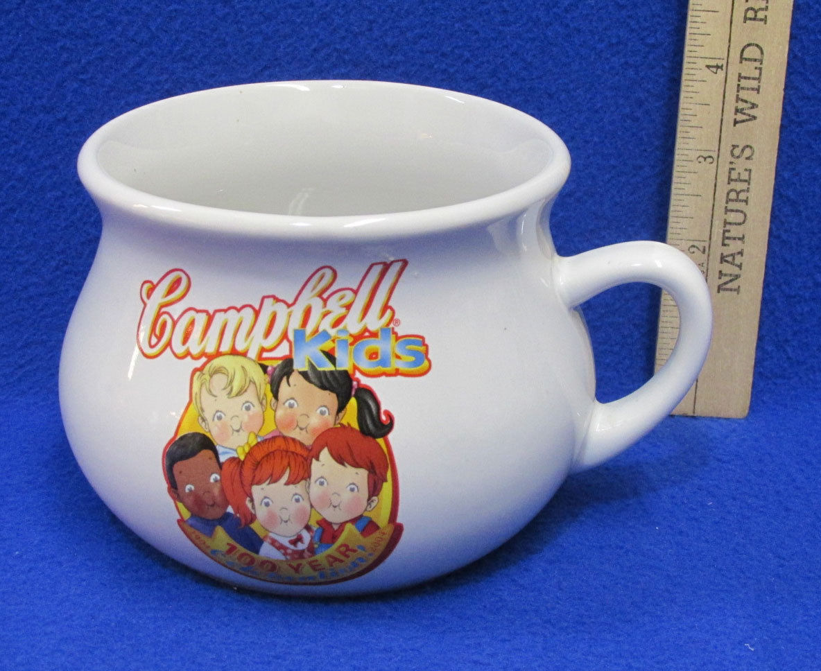Large Campbell Kids Soup Mug Cup Bowl w/ and 50 similar items