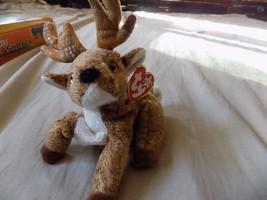 TY Beanie Babie ROXIE Christmas Reindeer 2000 - $2.99