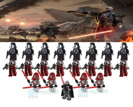 21pcs/set Star Wars The Old Republic Darth Malgus and Sith Troopers Minifigures - $33.50