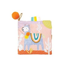 Manhattan Toy Llama Themed Soft Baby Activity Book with Squeaker, Crinkl... - $13.95