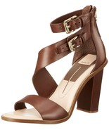 Dolce Vita Women's Oriana Dress Sandal Brown 10 M US - $49.01