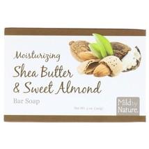 Mild By Nature, Moisturizing Bar Soap, Shea Butter & Sweet Almond, 5 oz ... - $6.00