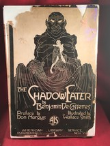 The Shadow Eater by Benjamin De Casseres Inscribed Copy in DJ-rare - $269.50