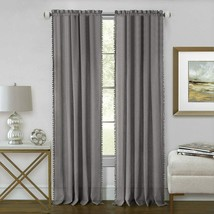 Achim Home Furnishings Achim Home Imports Wallace Rod Pocket Window Curtain Pane - $34.67+