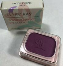 Mary Kay Powder Perfect Eye Color Exotic Purple 3519 Eye Shadow - $10.99