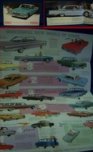 1960 FORD Automobile Color Sales Brochure - Full Line - New Old Stock - $9.50