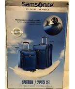 "Samsonite 2-PC 21"" & 27"" Spherion Expandable Spinner Suitcase True Blue - $123.75"