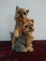 Collectible Danbury Mint Yorkshire Terrier Dog Animal Puppy Figurine Sta... - $56.09