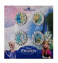 Disney FROZEN Booster Set 4 Pins - Princess Anna, Queen Elsa, Olaf & Are... - $24.73