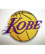 """Kobe Bryant Los Angeles Lakers Embroidered PATCH~3 1/2"""" x x 2 3/4""""~Iron ... - $5.68"""