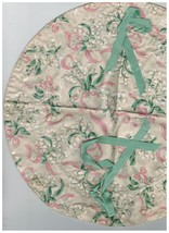 Longaberger May Series Lilly of the Valley Basket Liner  - $10.72