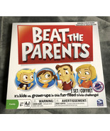 Beat The Parents Board Game Trivia Challenge Kids Adults Family Fun - Br... - $8.90