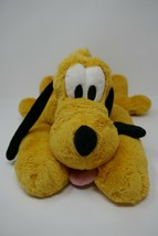 "Disney Store 16"" Pluto Dog Soft Plush Stuffed Toy - $14.01"