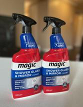 MAGIC Shower Glass & Mirror Cleaner Trigger, 28 fl oz Lot Of 2 - $26.99
