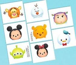 Tsum Tsum Disney Birthday Party 16 Tattoos Favors - $5.38 CAD
