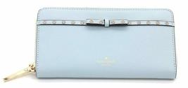 Kate Spade New York Lacey Elliott Street Wallet in Shimmer Blue - $108.90