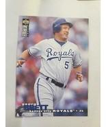 George Brett ~ 1995 UD Collectors Choice  #49 ~ Single Baseball Trading ... - £0.68 GBP